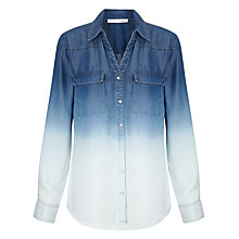 Buy Oui Ombre Shirt, Blue/White Online at johnlewis.com
