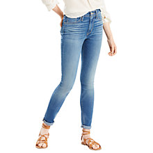 Buy Levi's 721 High Rise Skinny Jeans, Uptown Indigo Online at johnlewis.com