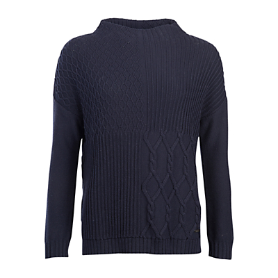 Barbour Block Texture Jumper