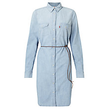 Buy Levi's Iconic Western Dress, Grunge Blue Online at johnlewis.com