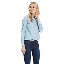 Buy Levi's Modern Western Shirt, Grunge Blue Online at johnlewis.com