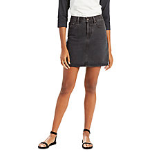 Buy Levi's The Everyday Denim Skirt, Mixed Tape Online at johnlewis.com