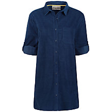 Buy Seasalt Arts Club Longline Shirt, Marine Online at johnlewis.com