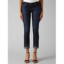 Buy AG The Stilt Roll Up Skinny Jeans, 4 Years Wonder Online at johnlewis.com