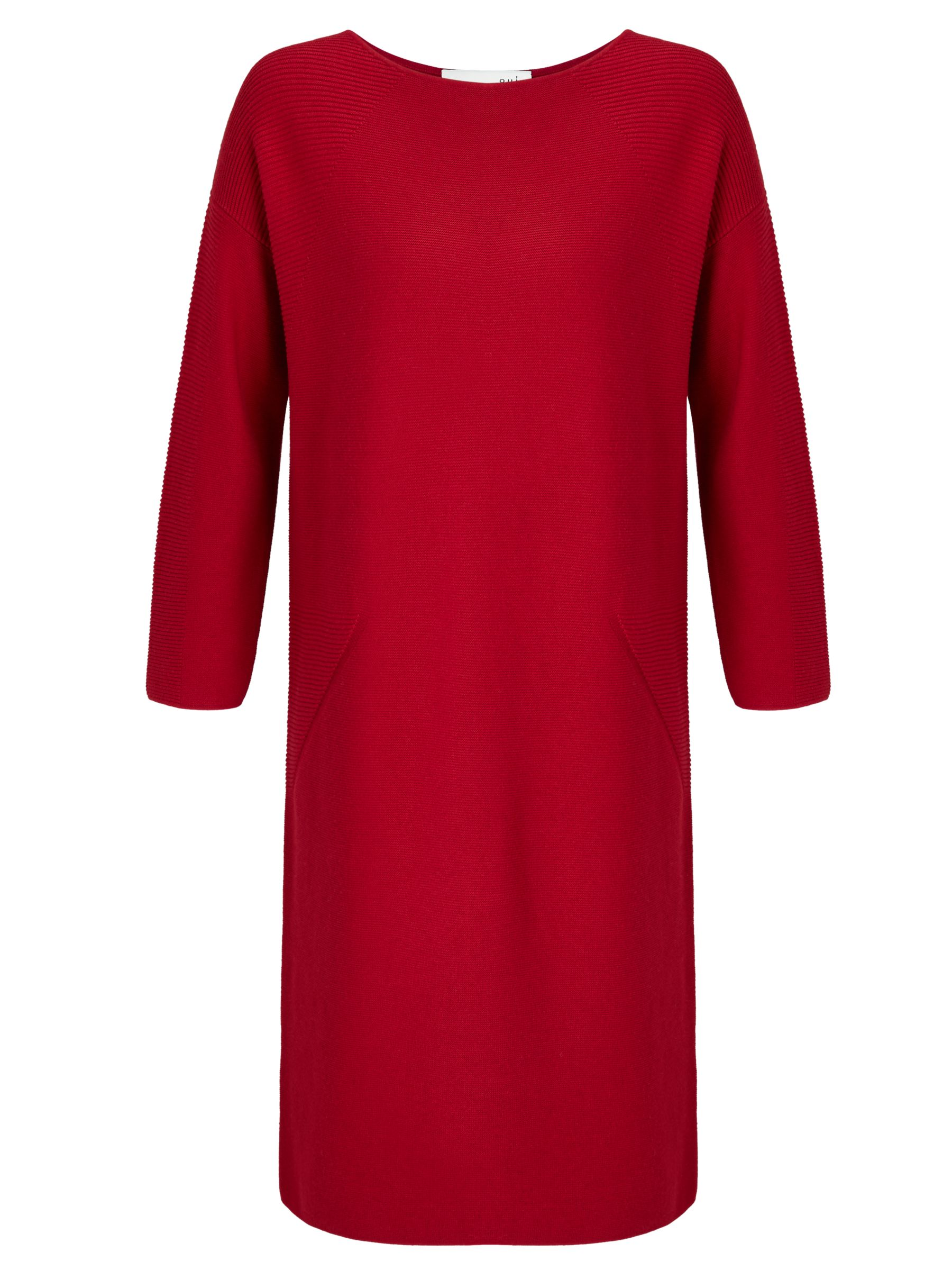 Oui Oui Knitted Dress, Scarlet Sage