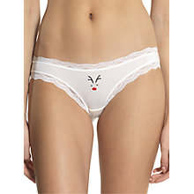 Buy cheekfrills Reindeer Brief, Multi Online at johnlewis.com