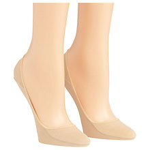 Buy Calvin Klein No Show Liner Socks, Nude Online at johnlewis.com