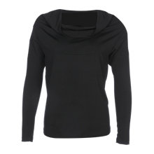 Buy Yanny London Cowl Neck Top, Black Online at johnlewis.com