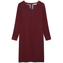 Buy Gerard Darel Cygne Dress, Bordeaux Online at johnlewis.com