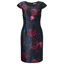 Buy Jacques Vert Petite Printed Dress, Multi/Black Online at johnlewis.com