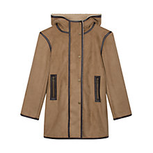 Buy Gerard Darel Faux Fur Jacket, Camel Online at johnlewis.com