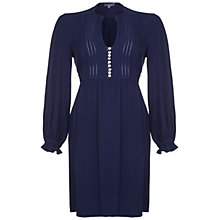 Buy Ghost Heidi Dress, Navy Online at johnlewis.com