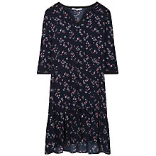 Buy Gerard Darel Capri Floral Dress, Navy Blue Online at johnlewis.com