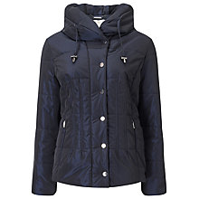 Buy Jacques Vert Short Puffer Jacket, Navy Online at johnlewis.com