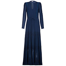 Buy Ghost Eliza Maxi Dress, Slate Blue Online at johnlewis.com