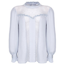 Buy Ghost Edna Blouse, Dove Grey Online at johnlewis.com