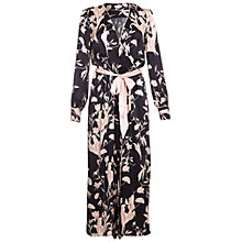 Buy Ghost Ilona Satin Jumpsuit, Briony Bloom Online at johnlewis.com