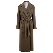 Buy Warehouse Low Break Double Breasted Coat Online at johnlewis.com