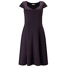 Buy Jacques Vert Ponte Dress, Purple Online at johnlewis.com