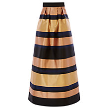 Buy Coast Rita Maxi Skirt, Gold Online at johnlewis.com
