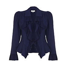 Buy Ghost Hatty Jacket, Navy Online at johnlewis.com