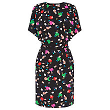Buy Warehouse Geo Party Print Dress, Multi Online at johnlewis.com