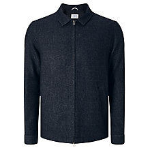 Buy Libertine-Libertine Tell Chart Melton Bomber Jacket, Dark Navy Online at johnlewis.com