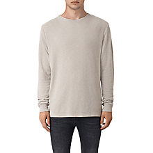 Buy AllSaints Stack Long-Sleeve Crew Neck Jersey T-Shirt Online at johnlewis.com