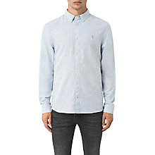 Buy AllSaints Millard Slim-Fit Long Sleeve Shirt Online at johnlewis.com