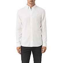 Buy AllSaints Shire Slim-Fit Cotton Shirt Online at johnlewis.com