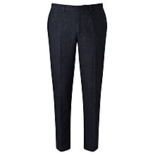 Buy Libertine-Libertine Tell Transworld Wool Trousers, Dark Navy Online at johnlewis.com