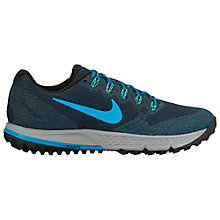 Buy Nike Air Zoom Wildhorse 3 Men's Running Shoes, Navy Online at johnlewis.com
