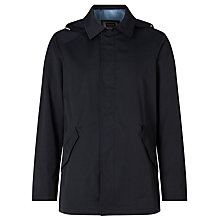 Buy Bugatti 80cm Zip Front Sportive Flexcity Raincoat, Navy Online at johnlewis.com