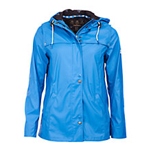 Buy Barbour Hackamore Waterproof Parka, Beachcomber Blue Online at johnlewis.com