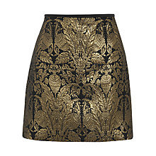 Buy Oasis Warner Archive Mini Skirt, Multi Online at johnlewis.com