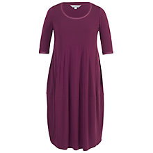 Buy Chesca Seamed Jersey Dress, Plum Online at johnlewis.com