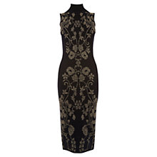 Buy Oasis Warner Archive Dress, Black Online at johnlewis.com