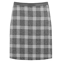 Buy Oasis Salt & Pepper Check Skirt, Multi Online at johnlewis.com