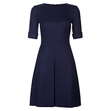 Buy Hobbs Allison Dress, French Navy Online at johnlewis.com