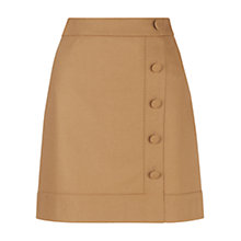 Buy Hobbs Frances Skirt, Camel Online at johnlewis.com