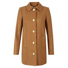 Buy Hobbs Highgate Wool Blend Coat, Vicuna Online at johnlewis.com