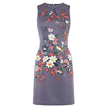 Buy Oasis Osaka Satin Shift Dress, Multi Online at johnlewis.com