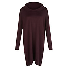 Buy Hobbs Daya Dress, Plum Online at johnlewis.com