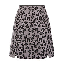 Buy Oasis Animal Jacquard Skirt, Multi Online at johnlewis.com