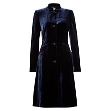 Buy Hobbs Benita Coat, Navy Online at johnlewis.com