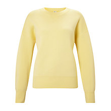 Buy Kin by John Lewis Compact Cotton Jumper, Yellow Online at johnlewis.com