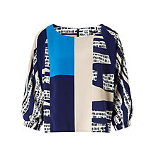 Buy Kin by John Lewis Batwing Colour Block Top, Multi Online at johnlewis.com