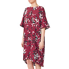 Buy Kin by John Lewis Oversized Scatter Floral Dress, Red Online at johnlewis.com