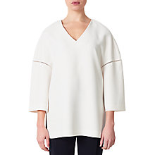 Buy Kin by John Lewis Lace Insert Tunic, Off White Online at johnlewis.com