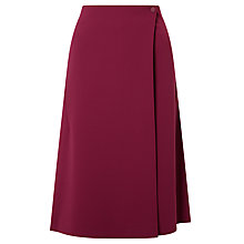 Buy Kin by John Lewis Twill Pocket Wrap Skirt, Red Online at johnlewis.com